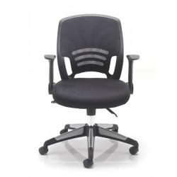 Carbon | Mesh Back Chair with Swivel Base