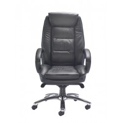 Montana | Leather Chair with Swivel Base