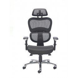 Chachi | Mesh Chair with Swivel Base