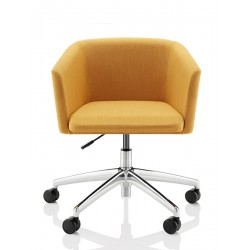 Toto | Fabric Chair with Swivel Base