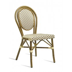 Time   Wicker Chair with Leg Base