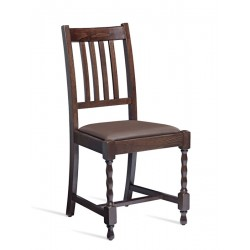 Marro   Wooden Chair with Leg Base