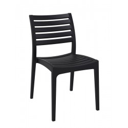 Real   Plastic Chair with Leg Base
