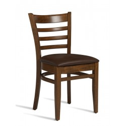Plus   Wooden Chair with Leg Base