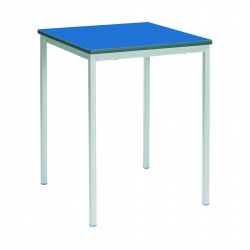 Square Classroom Table - Fully Welded Frame - MDF Edge