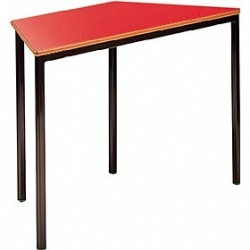 Trapeziodal Classroom Table - Fully Welded Frame - MDF Edge